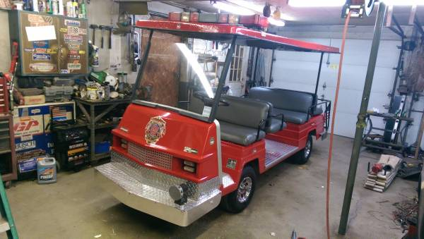 95 Electric Ezgo Limo Golf Cart Value Vehicles Call 877